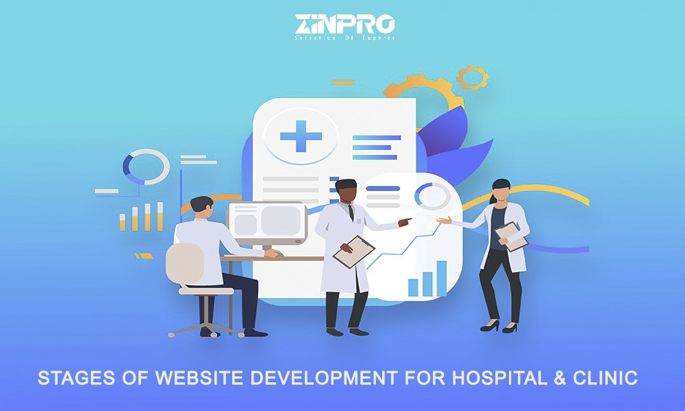 Professional Hospital And Clinic Website Development