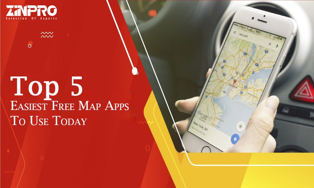 Top 5 Easiest Free Map Apps To Use Today